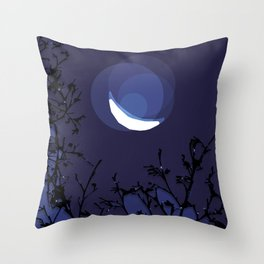 True Moonlight Throw Pillow