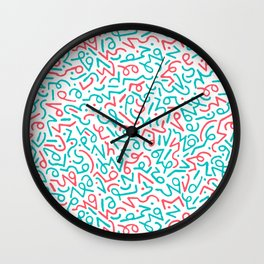 Sequence 21 - Shorthand Wall Clock