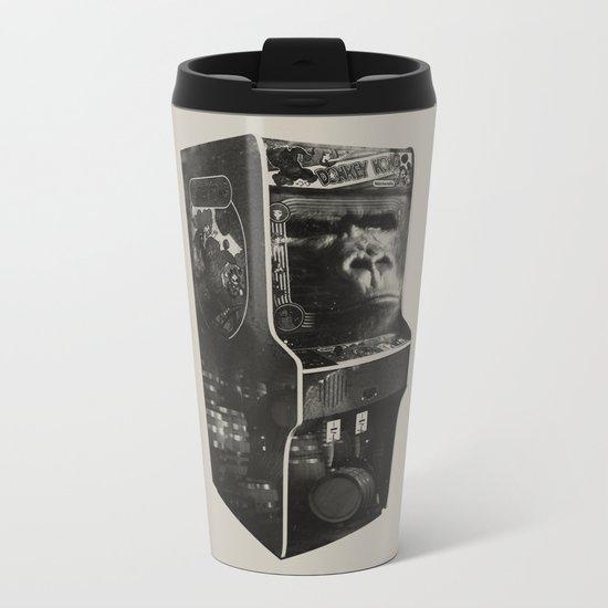DONKEY KONG ARCADE MACHINE Metal Travel Mug
