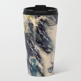 THE STORY OF A LACING WAVE Travel Mug