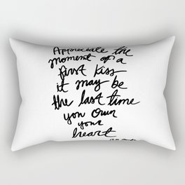 Quote, R. M. Drake Rectangular Pillow
