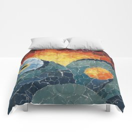 Octo Collage Comforters