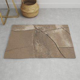 Cracked Clay Rug