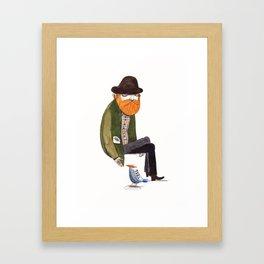 eli Framed Art Print