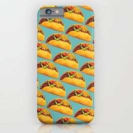 Taco Pattern iPhone Case
