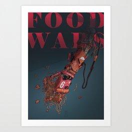 Food Wars Art Print