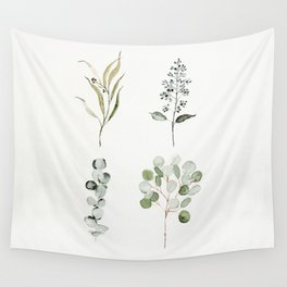 Eucalyptus Branches Wall Tapestry