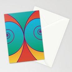 Swirly pretty thingies of goodness Stationery Cards