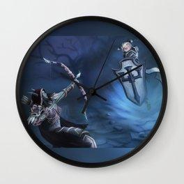 Sylvanas vs Johanna Wall Clock