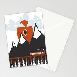Minimal Sunrise Stationery Cards