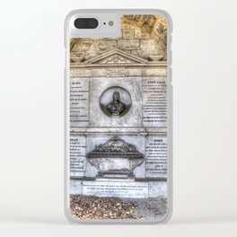 John Adam Architect Greyfriars Clear iPhone Case