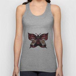 Butterfly fractal Unisex Tank Top