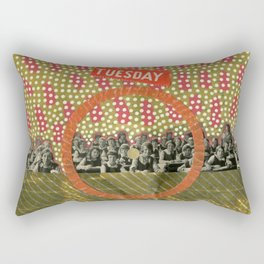 No Dark Sarcasm In The Classroom Rectangular Pillow