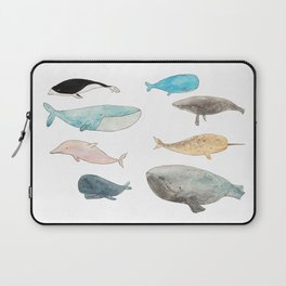 Group of whales Laptop Sleeve