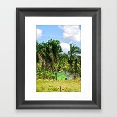 Island Home Framed Art Print