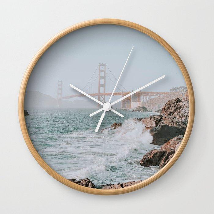 san francisco ii / california Wall Clock