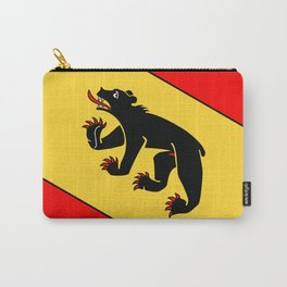 Bern Bear - Swiss City and Canton Crest Carry-All Pouch