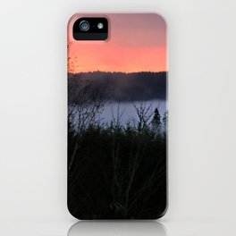 February Morning Sunrise iPhone Case