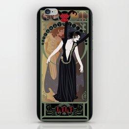 Dark Lili Nouveau - Legend iPhone Skin