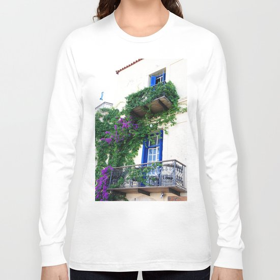 Chania Old Town View Long Sleeve T-shirt