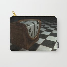 Melting Clock Carry-All Pouch