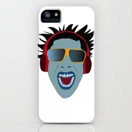 ilustração rosto do autor iPhone Case