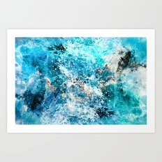 Water's Dance Art Print