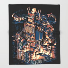 Night of the Toy Throw Blanket