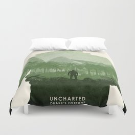Uncharted 1 Duvet Cover