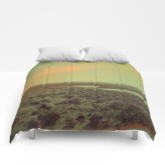 Lonely Landscape Comforters