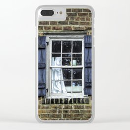 You'll probably need to warm that up. Clear iPhone Case