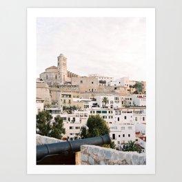 Dalt Vila - Ibiza - Travel Photography Art Print