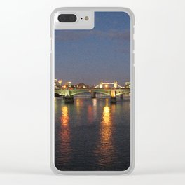 Thames Clear iPhone Case