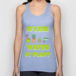 Funny Shirt For Garden Lover. Gift From Kids/Boys Unisex Tank Top