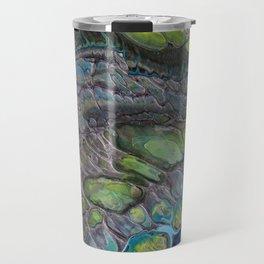 Tiny Blue Threads II Travel Mug