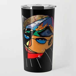 Facets Of Man Travel Mug