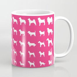 All Dogs (Pink) Coffee Mug