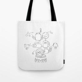 How the creative brain works? Tote Bag