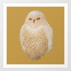 Owlmond 3 Art Print