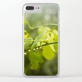 Morning blessing Clear iPhone Case