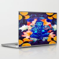 ganesh Laptop & iPad Skins featuring ganesh by Candice Steele Collage and Design