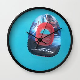 Surrealistic inflatable Wall Clock