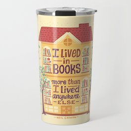 Lived in books Travel Mug