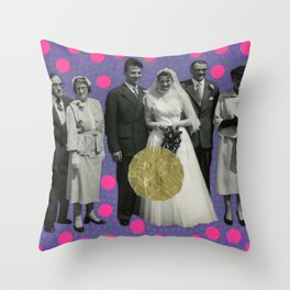 What The Fuck Son Throw Pillow