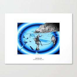 MOUNTAIN GLACIER TOUR III Canvas Print
