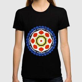 Bold and bright beauty of suzani patterns ver.5 T-shirt