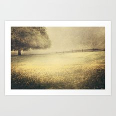 Yesterday's Fog Art Print