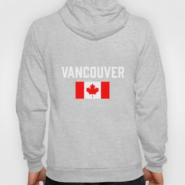 Vancouver Canada Flag British Columbia Canadian Hoody