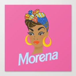 Morena Doll Canvas Print