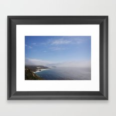 cali coast Framed Art Print